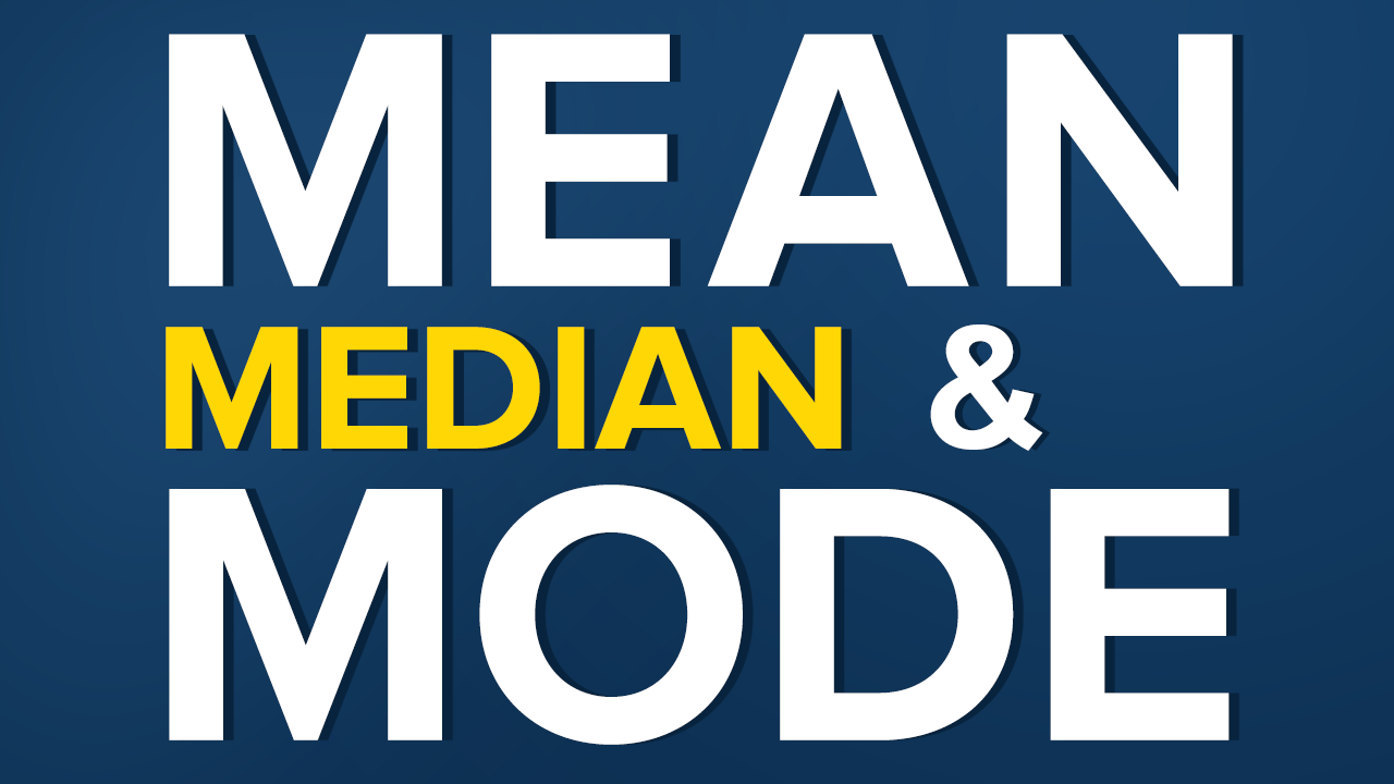 statistics mean median and mode 365 datascience