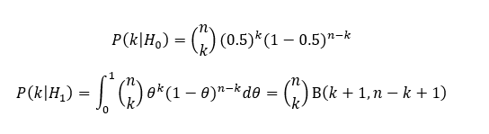 estimating coin flip probability