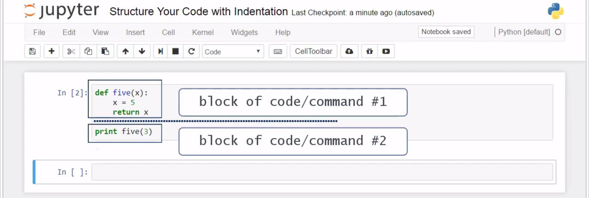 Structure Your Code with Indentation in Python 6