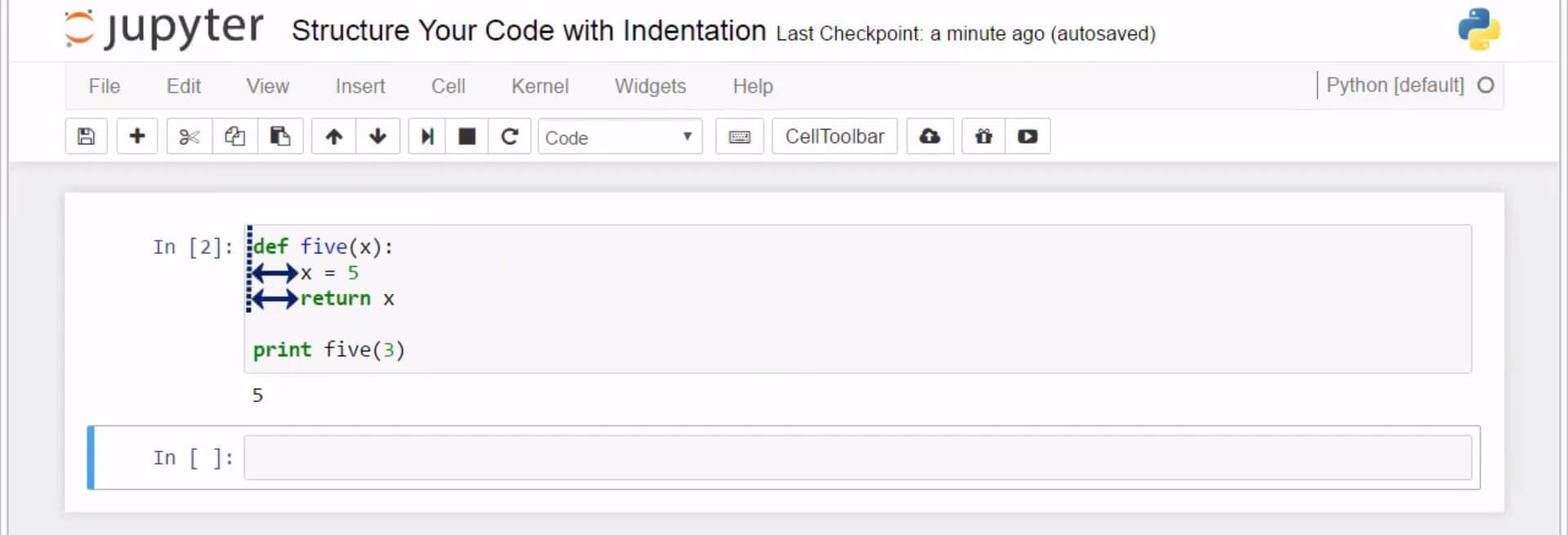 Structure Your Code with Indentation in Python 7