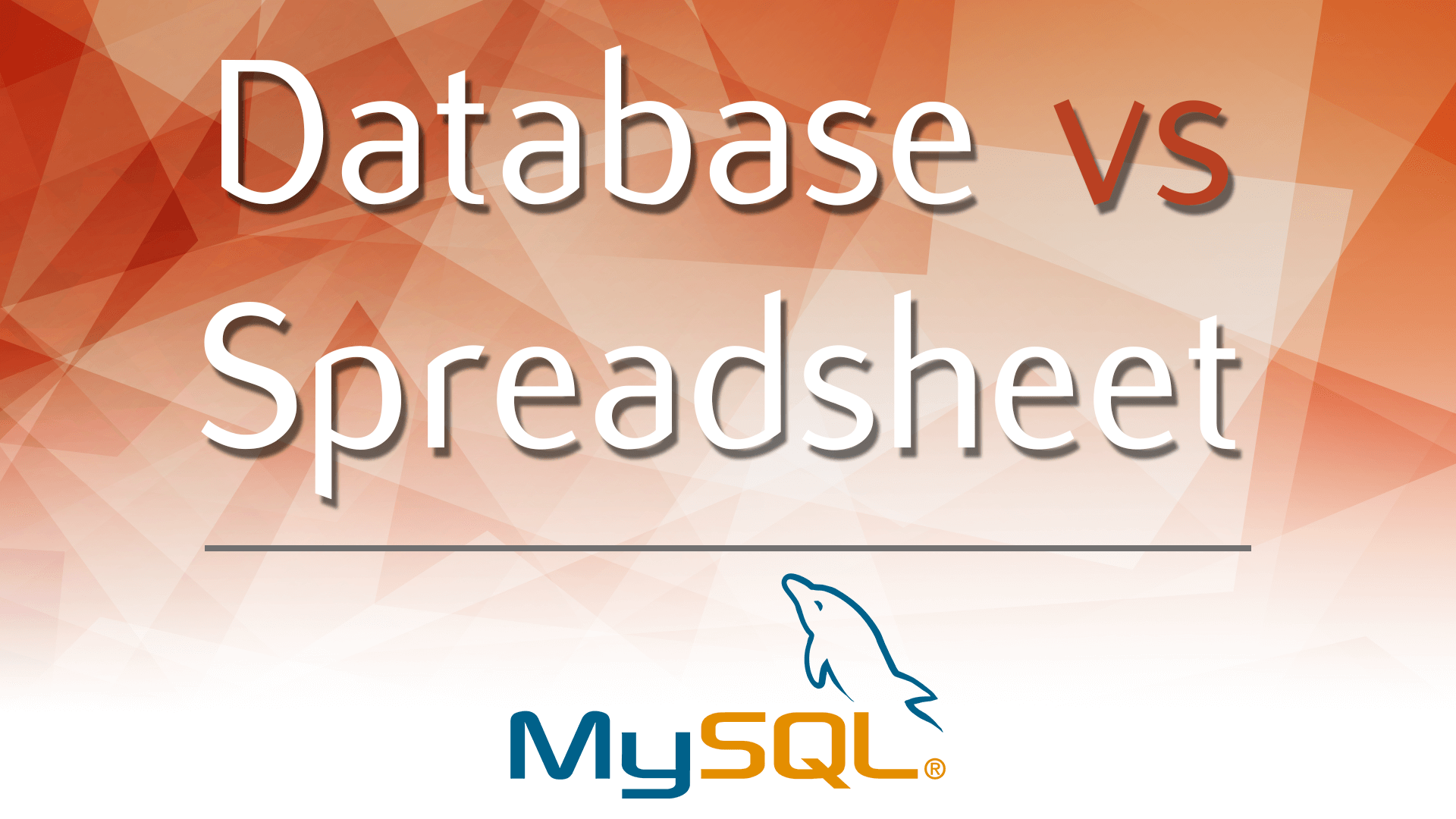 Database Vs Spreadsheet Advantages And Disadvantages