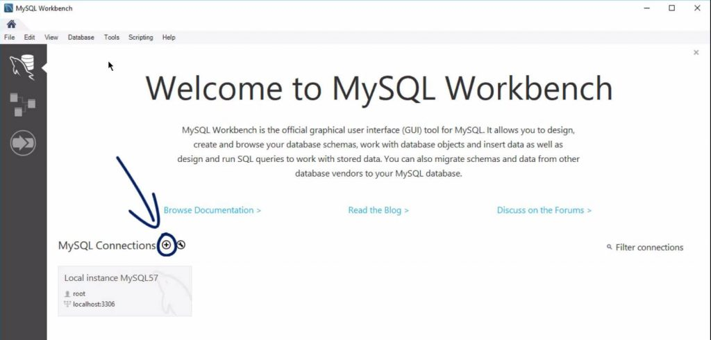 Plus sign My sql connections