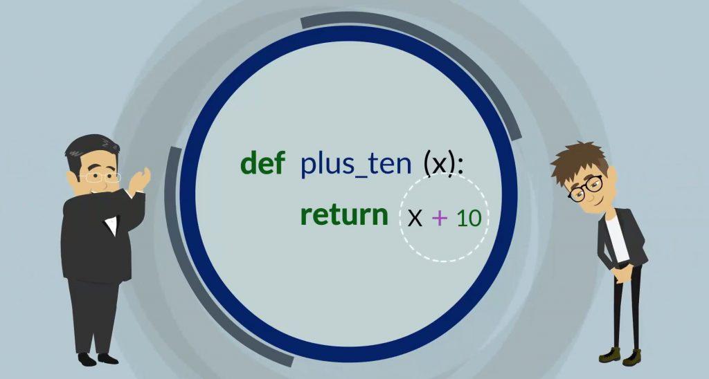 def plus_ten (x): return x+10