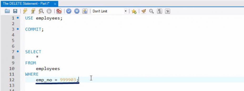 emp-no-sql-delete-statement