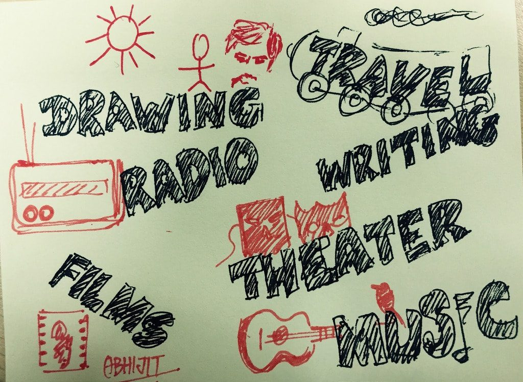 hobbies doodles