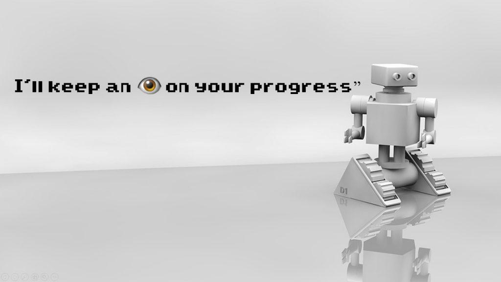 I'll keep an eye on your progress