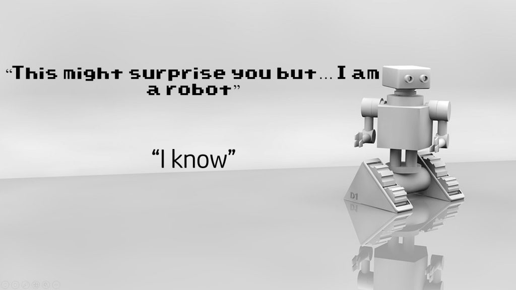 I am a robot, artificial intelligence and ethics