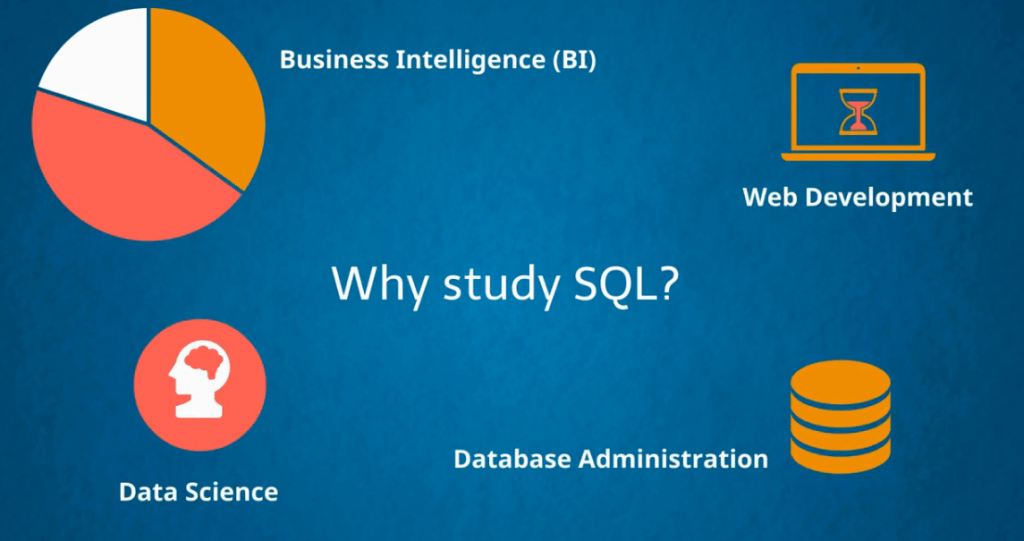 Reasons to study SQL