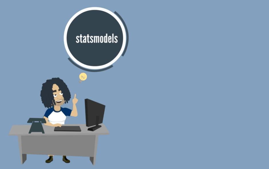 Statsmodels, modules in python