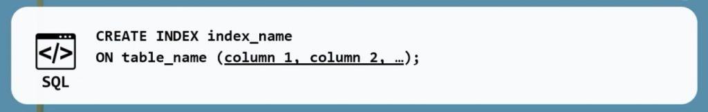 create index, indexes in mysql