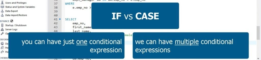 IF vs Case
