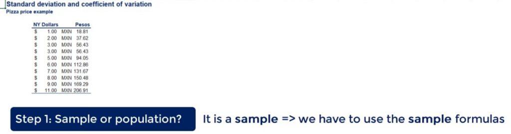sample or population?
