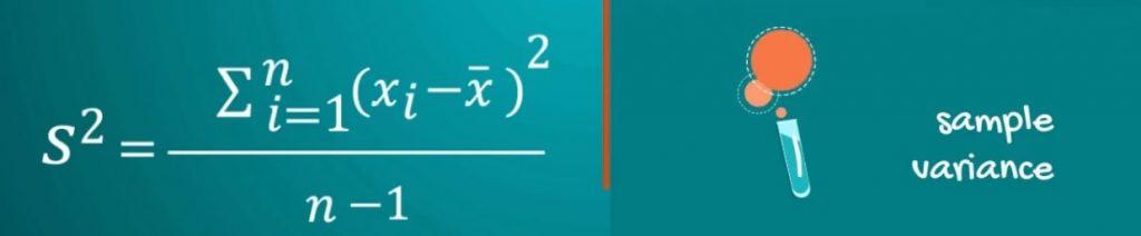 Sample Variance-variability, coefficient of variation