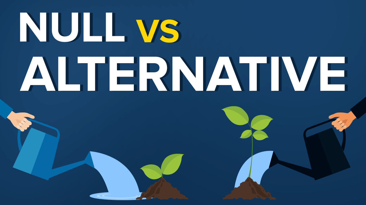 Null vs Alternative