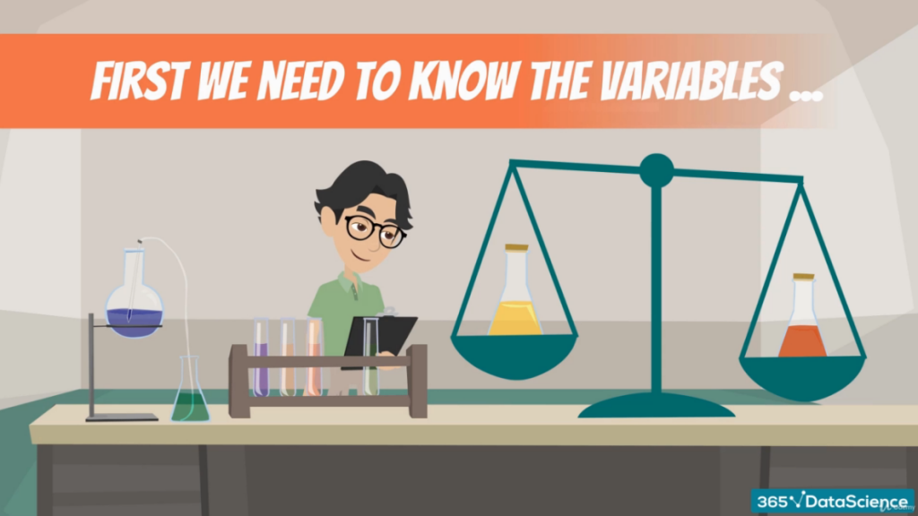 We need to know the variables, categorical variables
