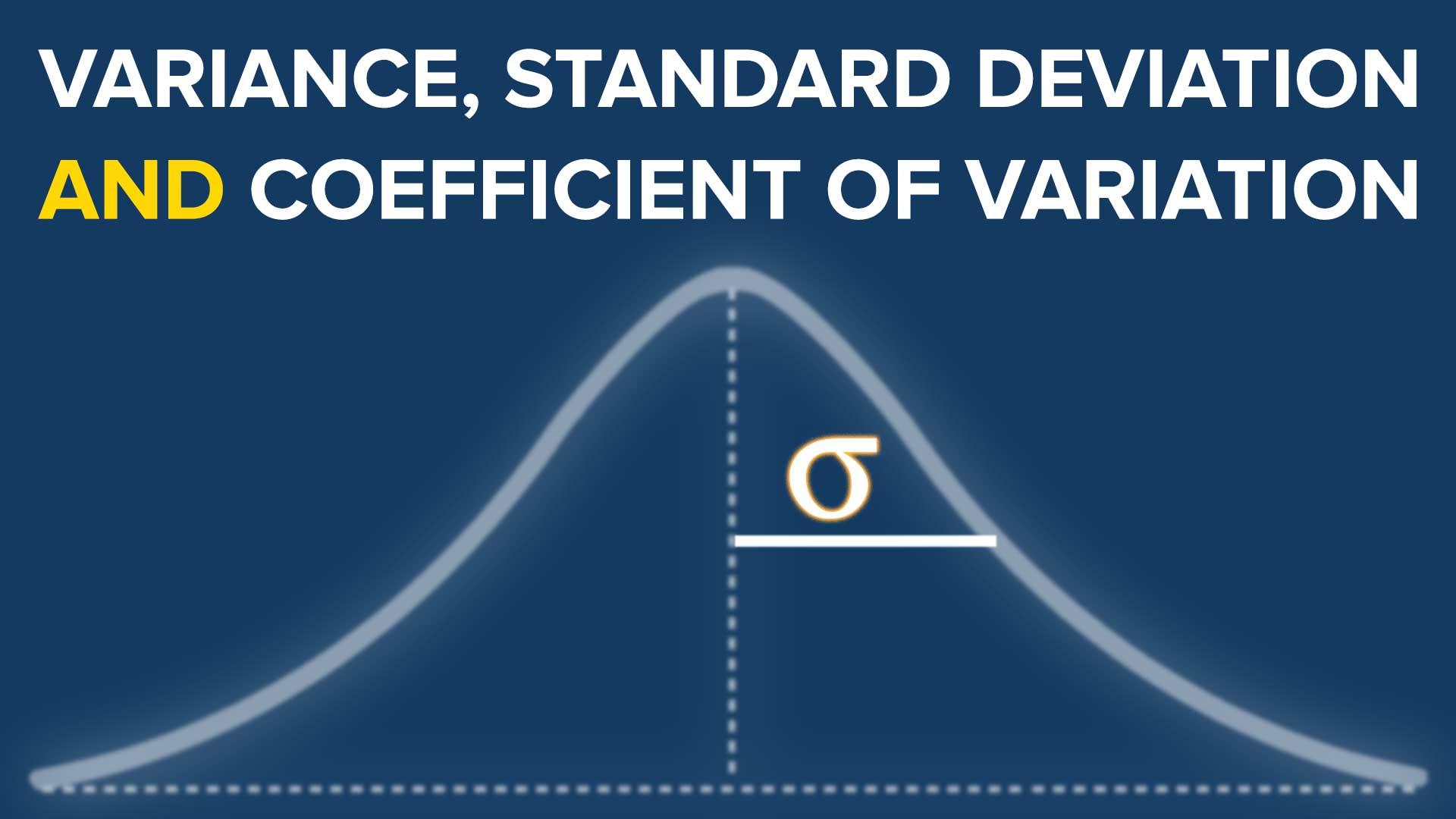 find variance
