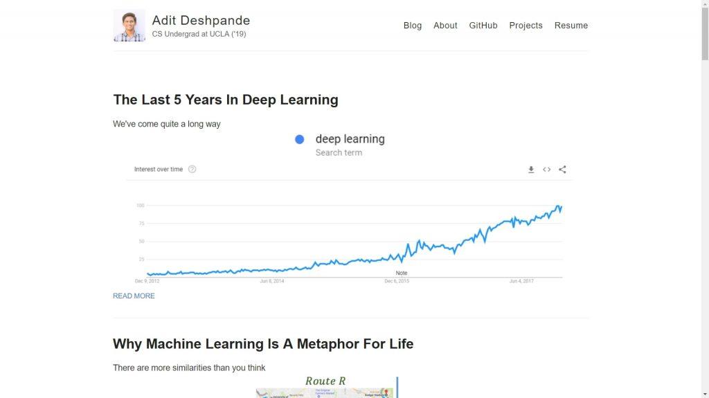 adeshpande data science blog