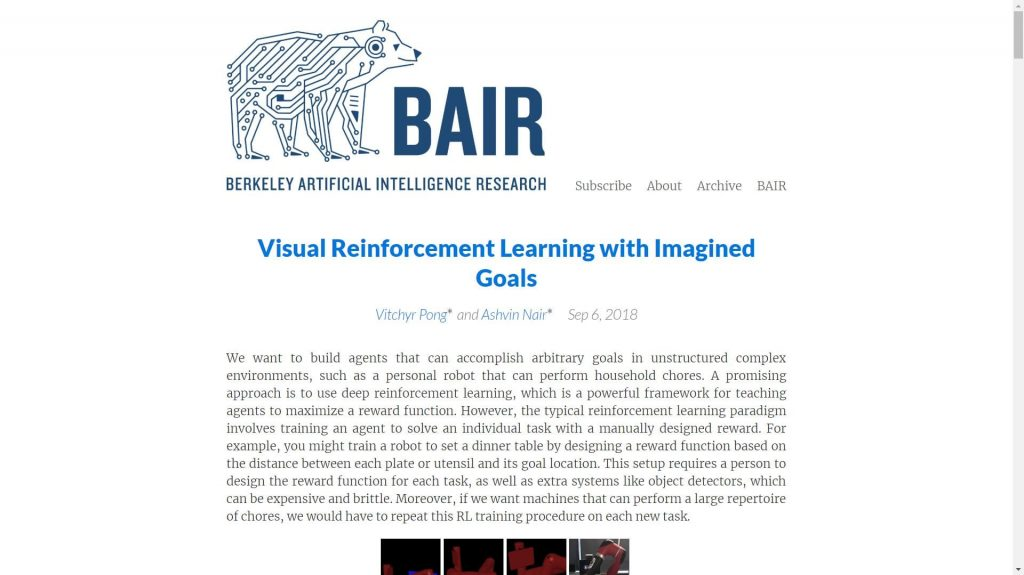 BAIR data science blog