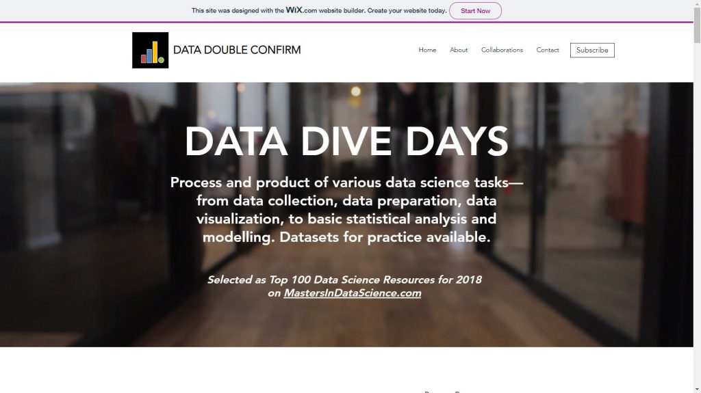 Data Double Confirm