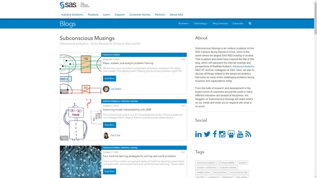 51 Awesome Data Science Blogs You Need To Check Out | 365