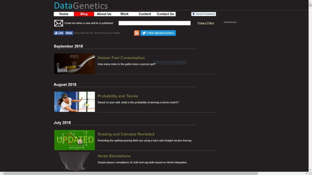 data genetics