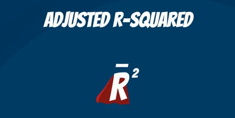 Adjusted R-squared, r-squared