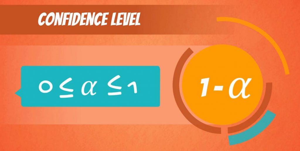 Confidence level formula