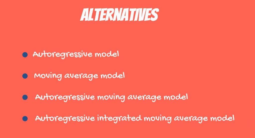 The alternatives, OLS assumptions