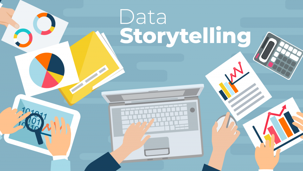 data storytelling, skills to match data science job description