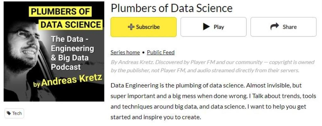 plumbers of data science data science podcast
