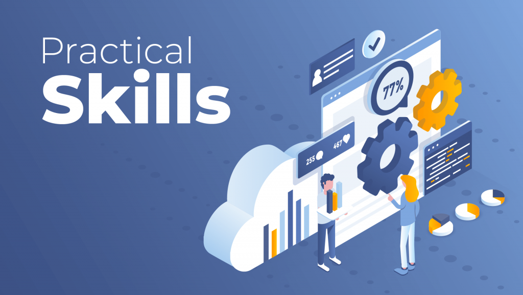 practical skills for data science job description
