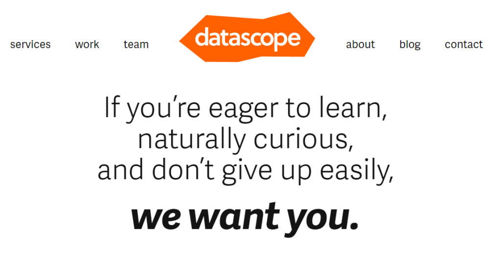 datascope, data science consulting companies