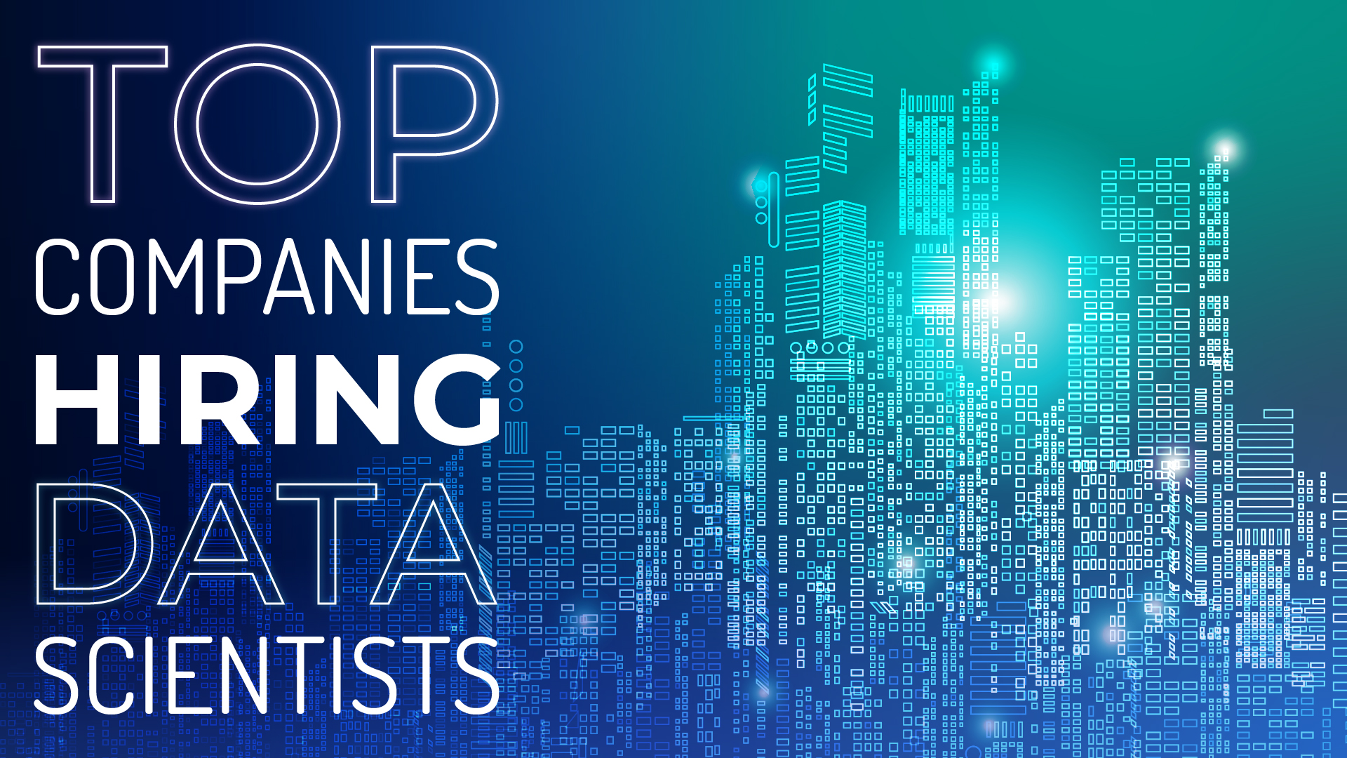 data science consulting companies hiring now