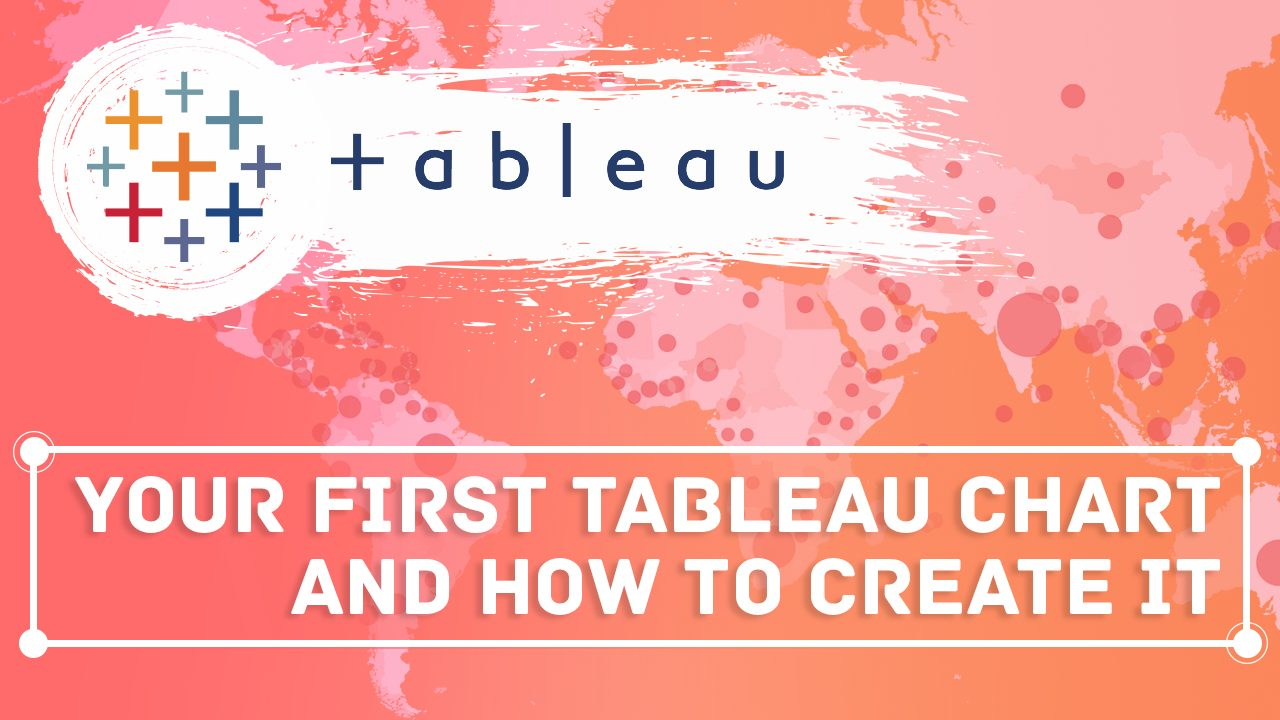how to create your first chart in tableau
