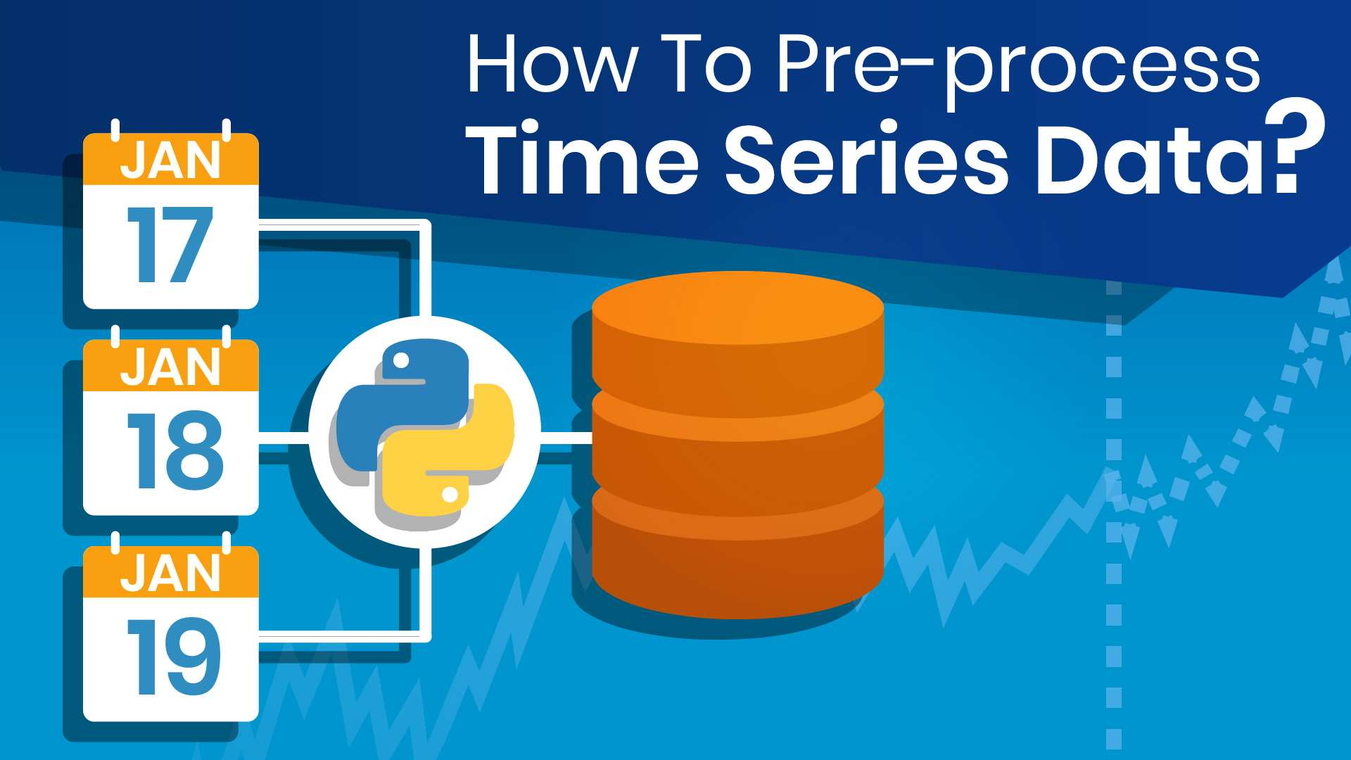 How To Pre-Process Time Series Data?