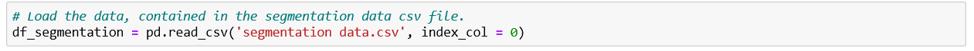 python-segmentation-data-csv