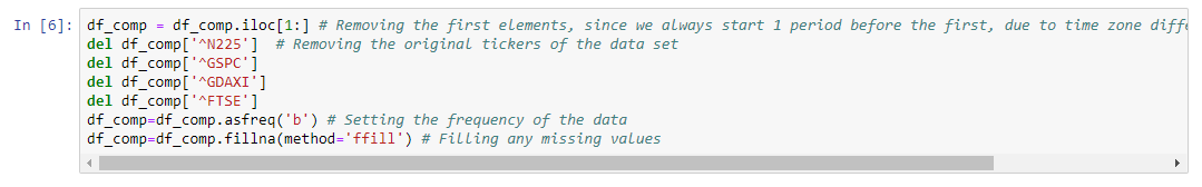 remove-first-elements-remove-original-tickers-data-set-python