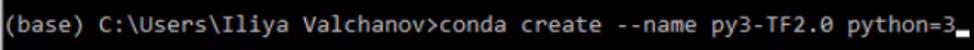 conda create --name py3-TF2.0 python=3, python 3, TF2, TensorFlow2, install tensorflow