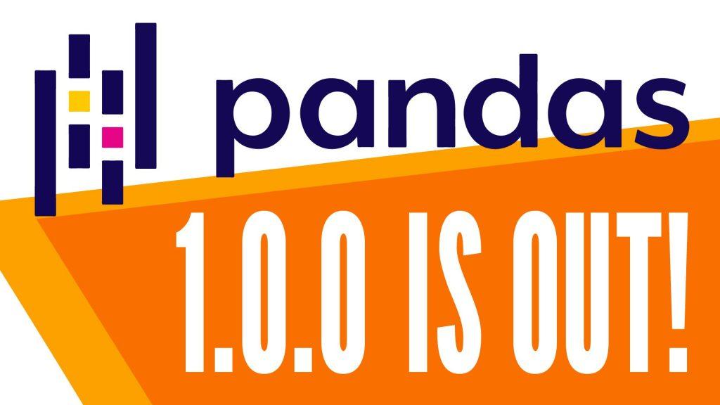 pandas 1.0.0