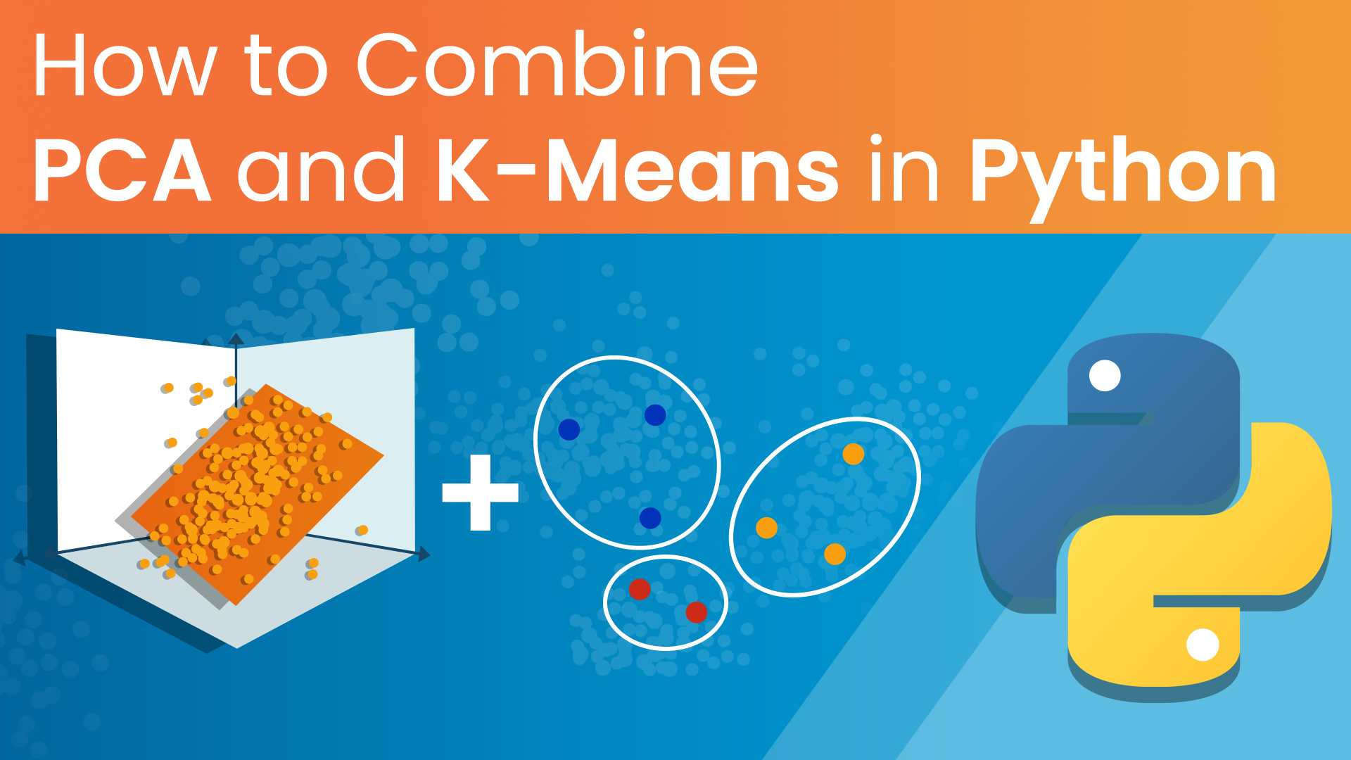 pca and k-means, pca and k-means in python, principal components analysis and k-means