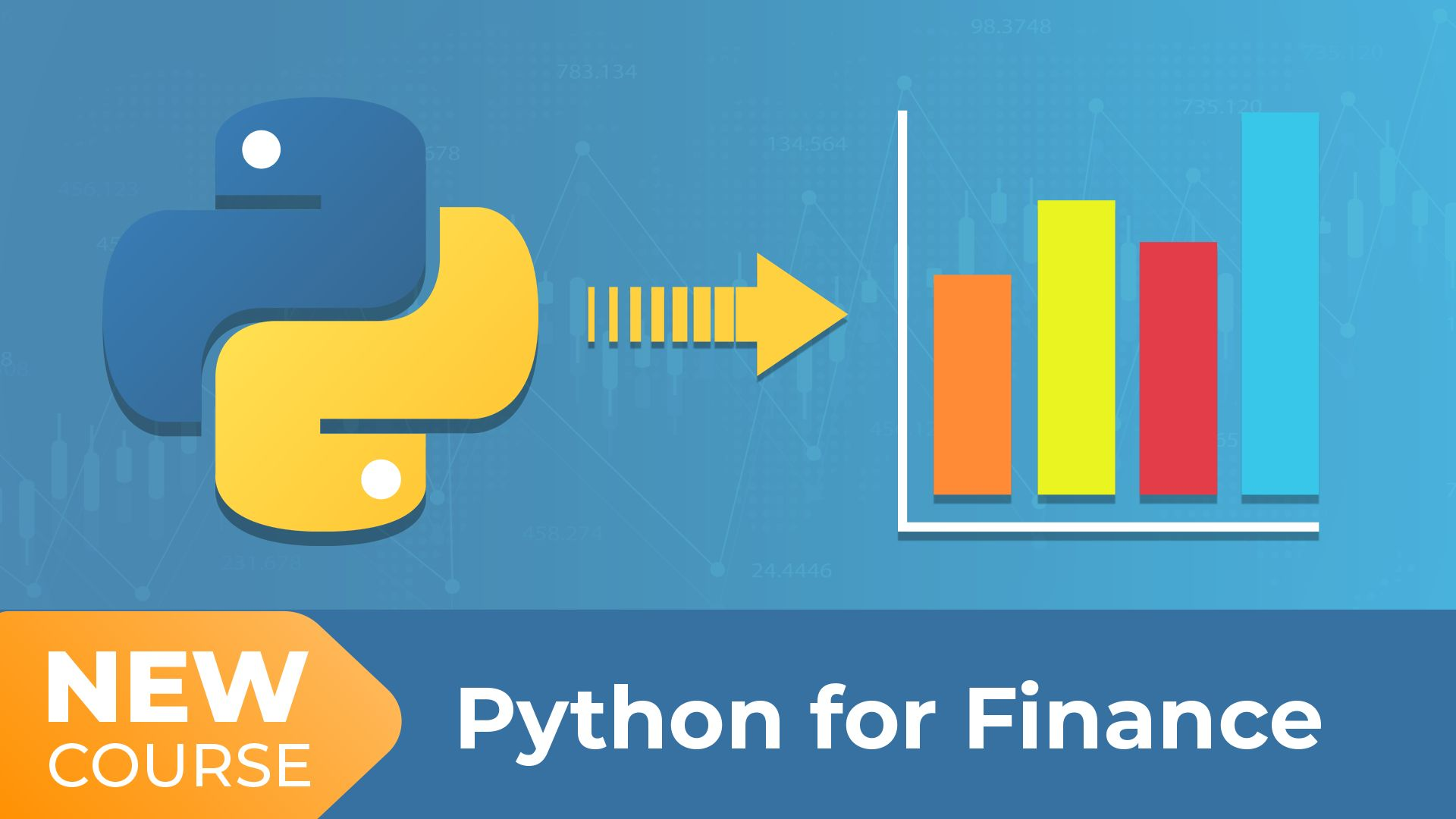 New Course! Python for Finance!