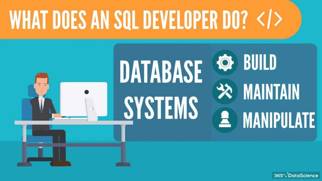 what does an sql developer do