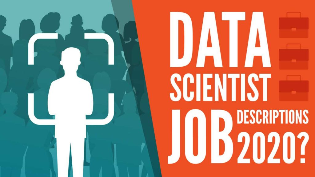 data scientist job descriptions 2020