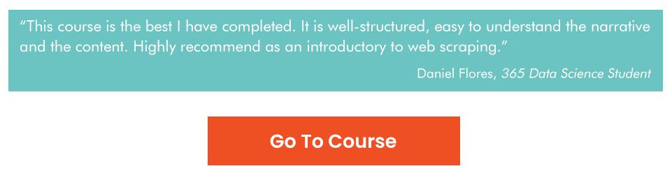 Nikola Puleve, Web scraping and API fundamentals course review
