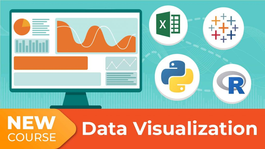 Data Visualization course with Python, R, Tableau, and Excel