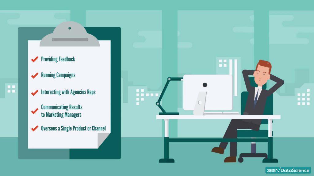 Marketing analyst responsibilities