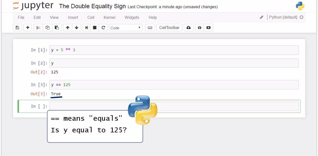 The Double Equality Sign