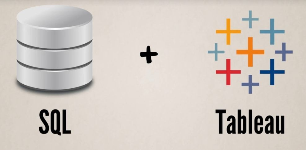 sql and tableau
