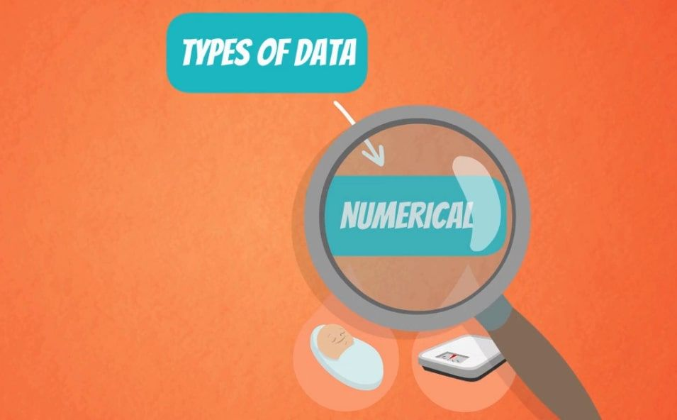 types of data numerical, histogram