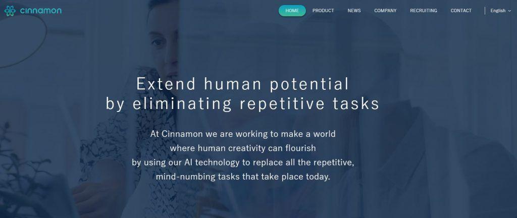 cinnamon, best startups